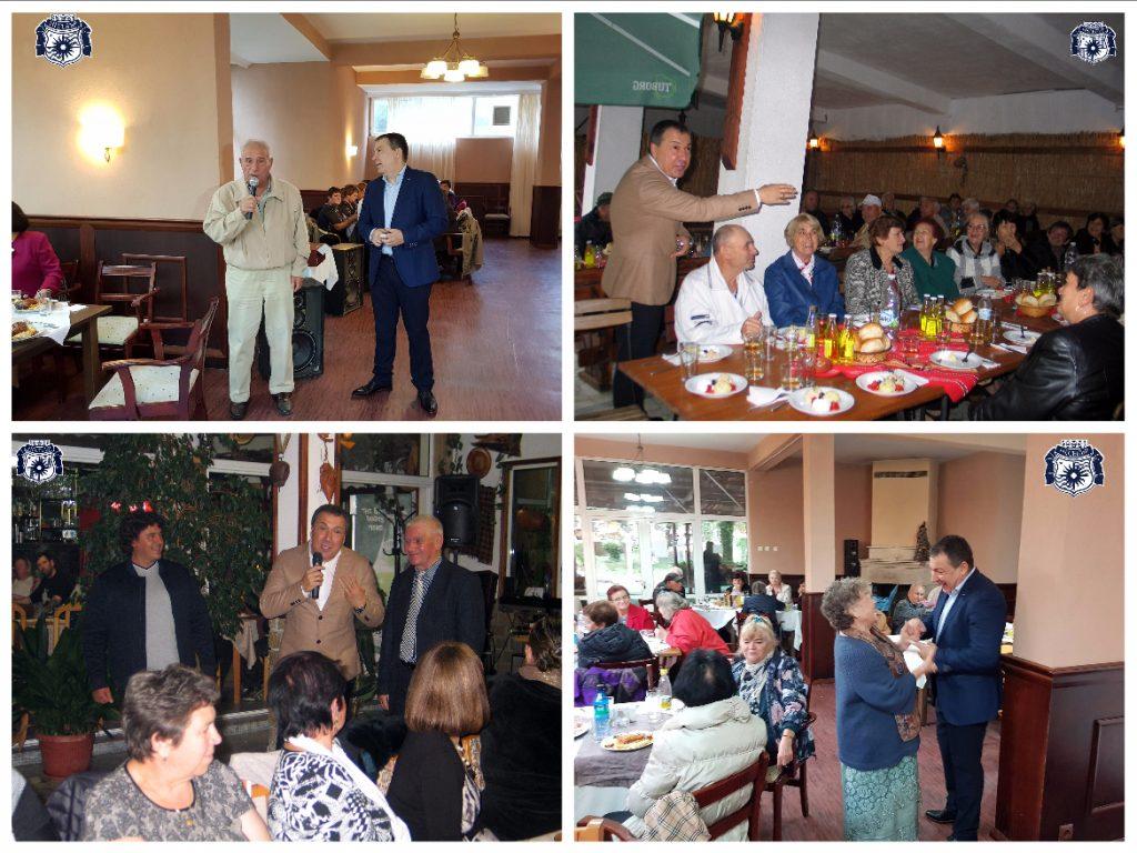 С тържествени събирания бе отбелязан 1 октомври - денят на пенсионера в Община Несебър