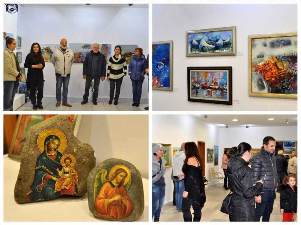 изложба на несебърските художници