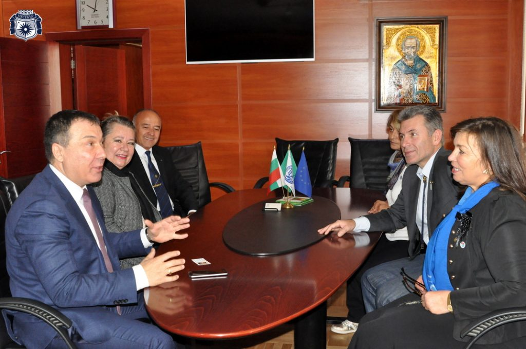 Кметът на Несебър и дистрикт гуверньорът на Ротари България обсъдиха предстоящи и бъдещи съвместни проекти