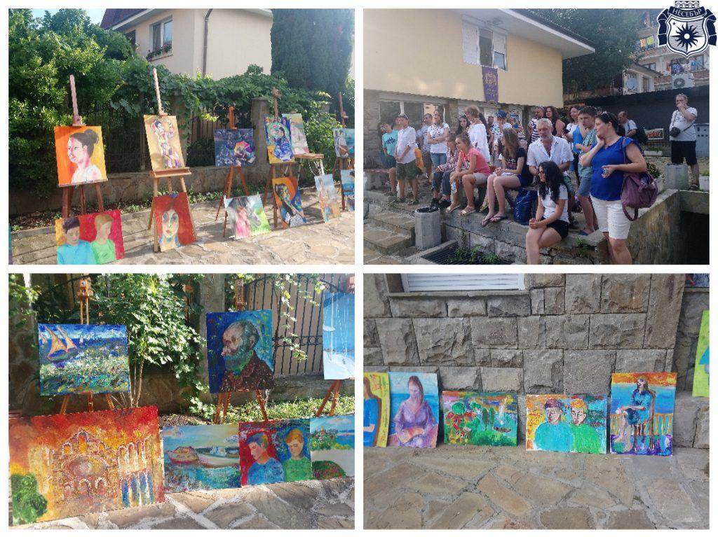 Демонстрационният център на занаятите - домакин на арт изява