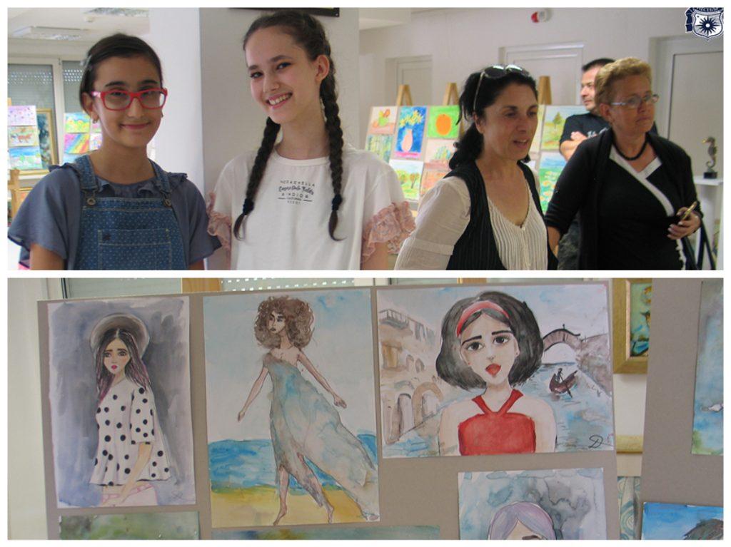 Рисунки на ученици