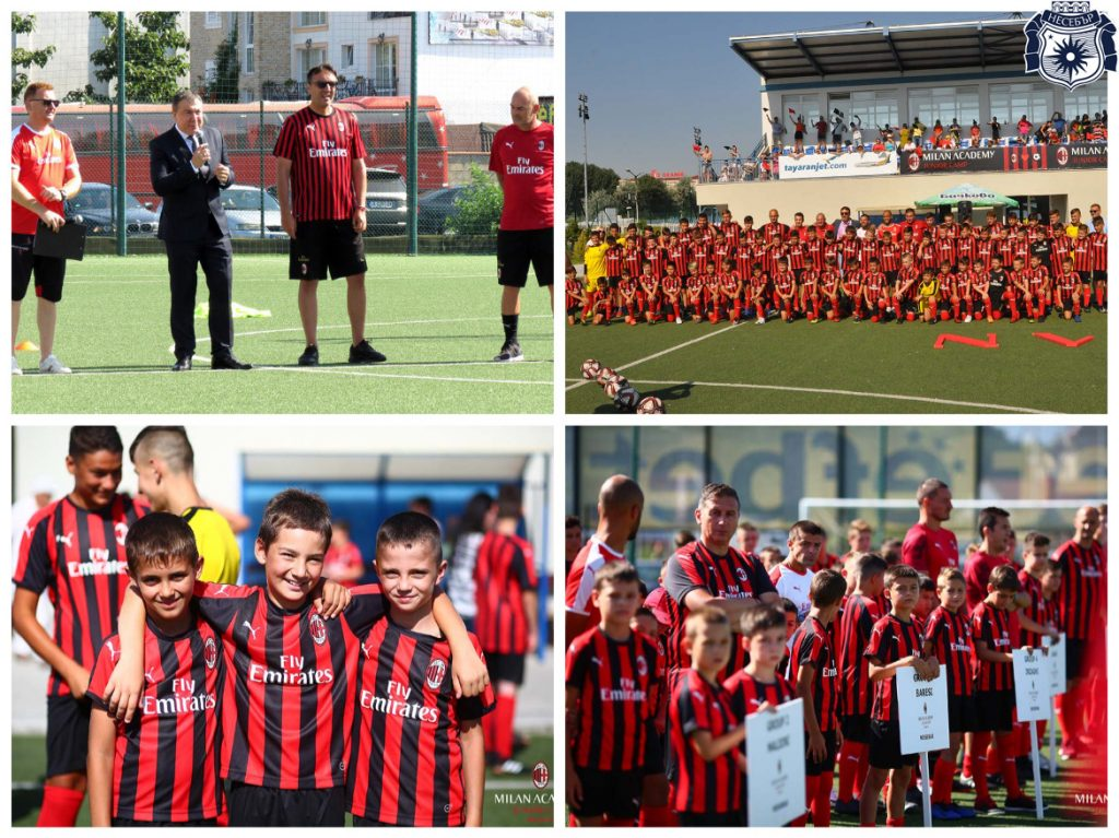 MILAN ACADEMY JUNIOR CAMP BULGARIA